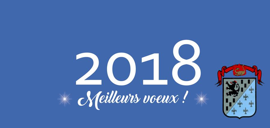 Cérémonie des vœux de la municipalité à la population 2018 !