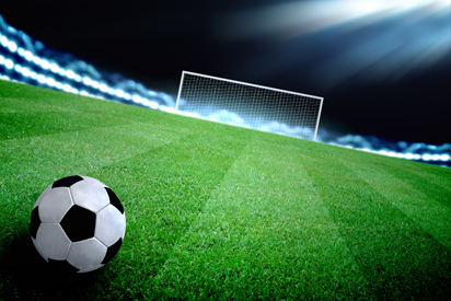 La mairie a remis en service l'éclairage du terrain de foot pour l'association OLCO-Section Foot
