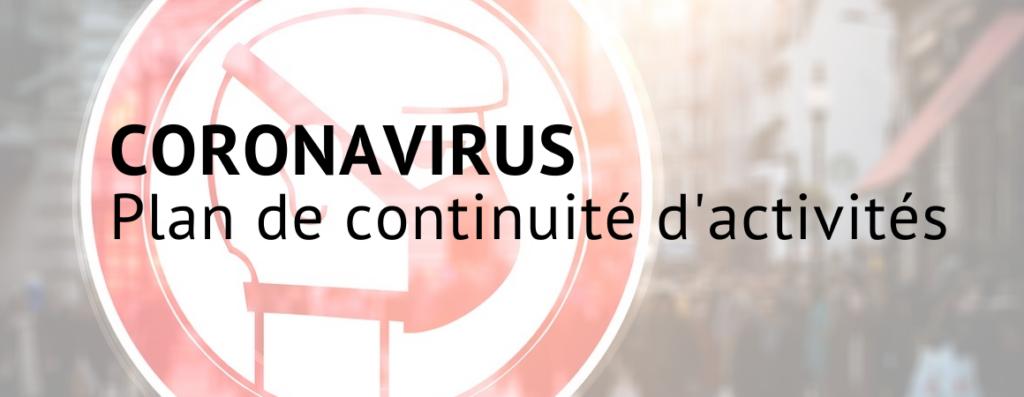 Information : La MAIRIE active son Plan de Continuité d'Activité